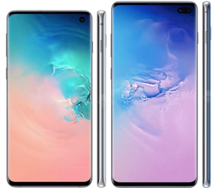 Galaxy S10 vs LG G8: Display