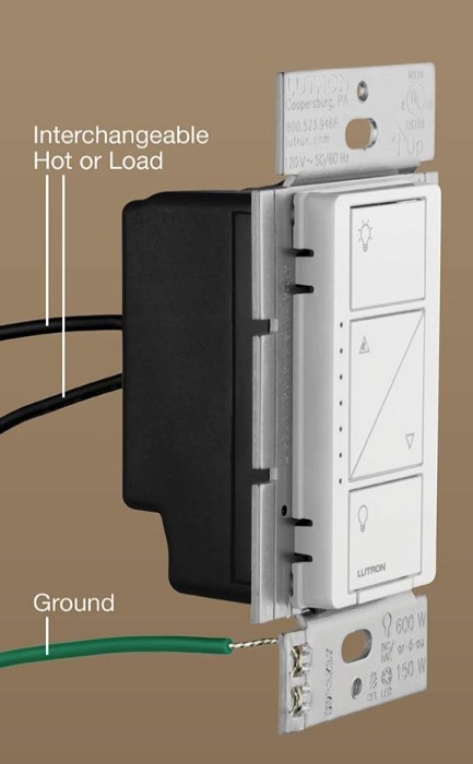 Wire up the new Lutron switch.