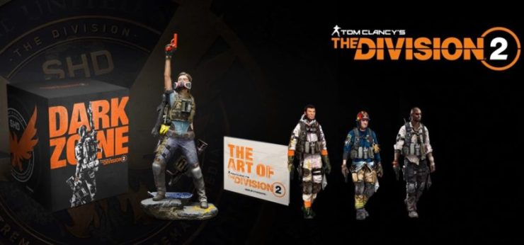 What you get with The Division 2 Dark Zone Collector's Edition.
