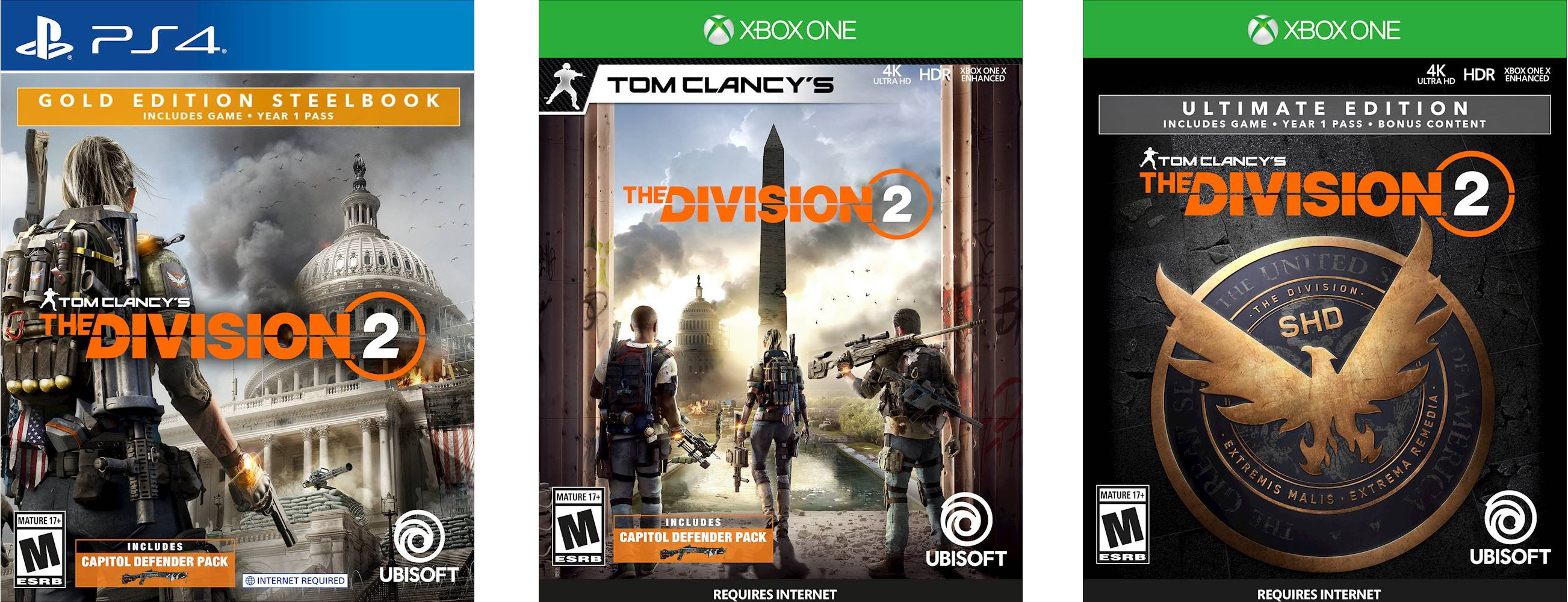 The Division 2: Which Edition to Buy?