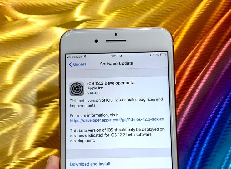 Prepare for the iOS 12.3 Release Date