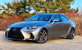 2019 Lexus IS 350 F Sport Review - 11