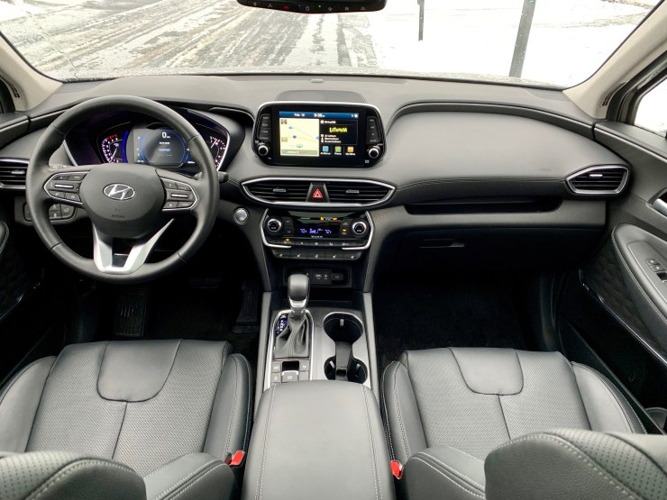You get a well appointed interior that is comfortable and spacious.