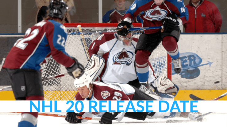 When is the NHL 20 release date?
