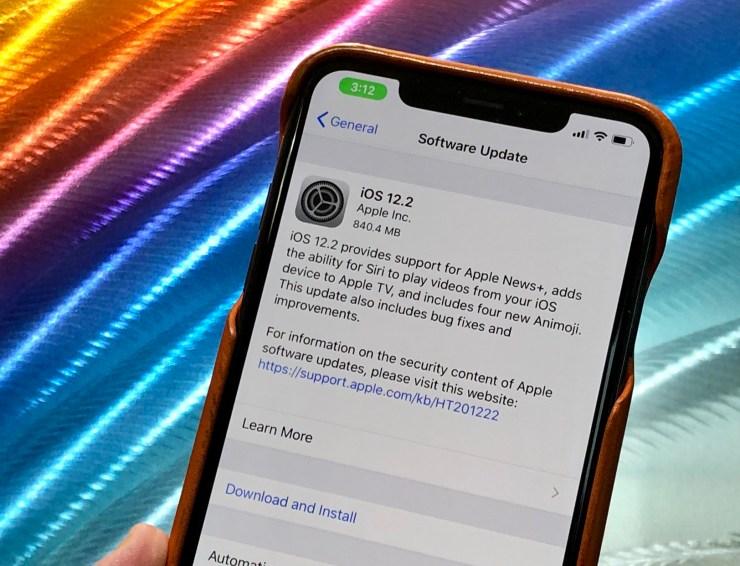 iPhone X iOS 12.2 Impressions & Performance