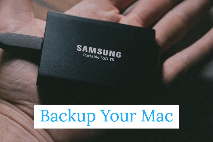 Backup Your Mac