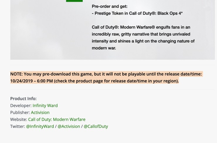 Pre-Order to Play Early