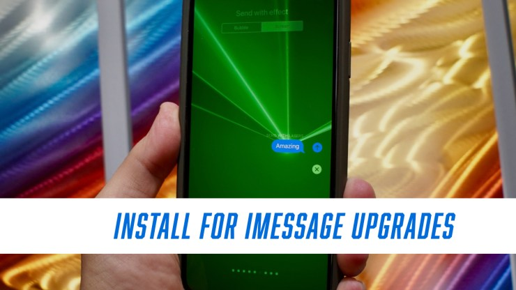 Install for Updated Messages Updates