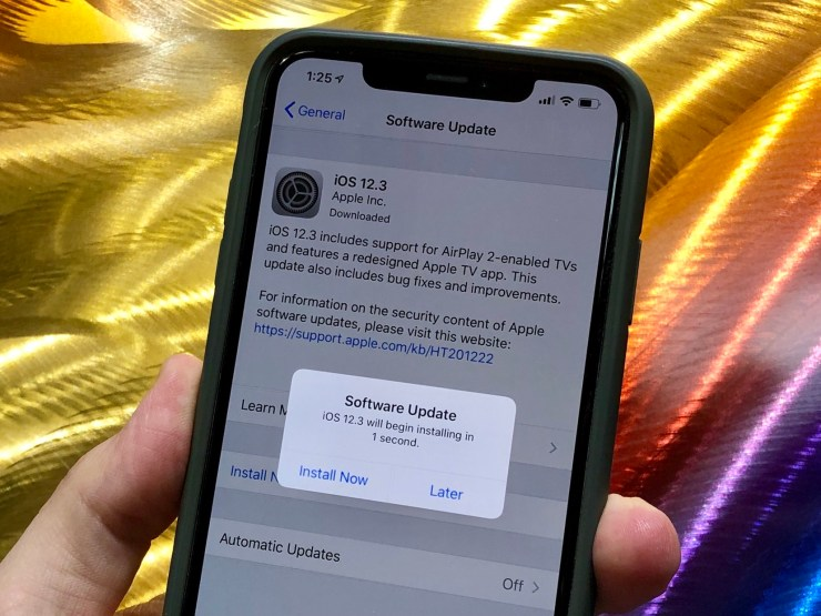 Install iOS 12.3 for Better Security