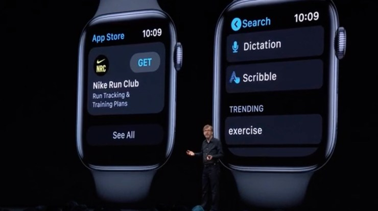This is the new Apple Watch App store.
