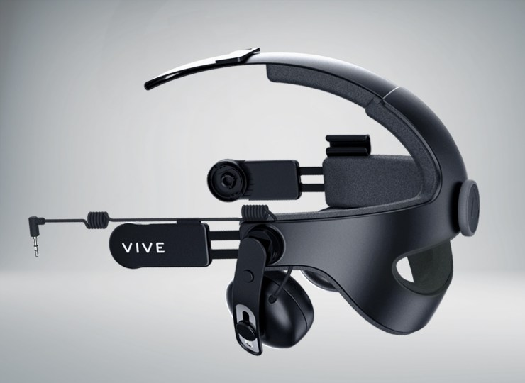 Upgrade your sound with the HTC VIVE DAS.
