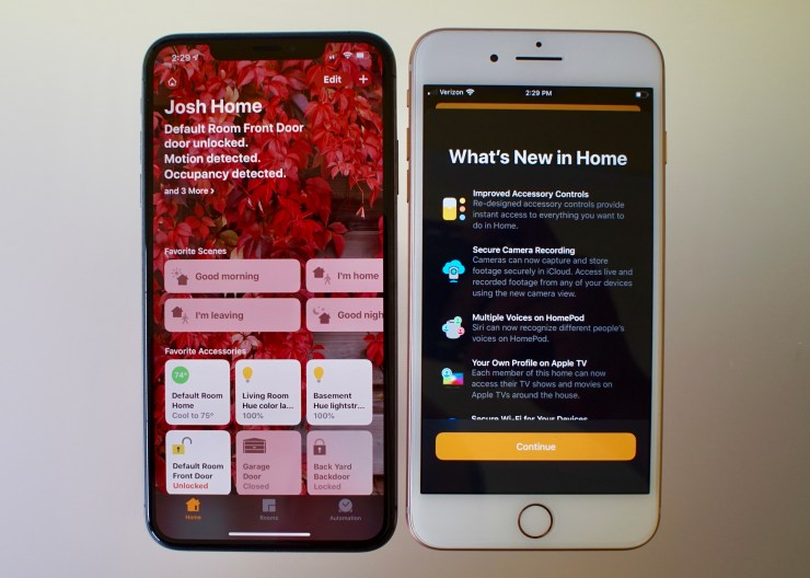 HomeKit Security Updates