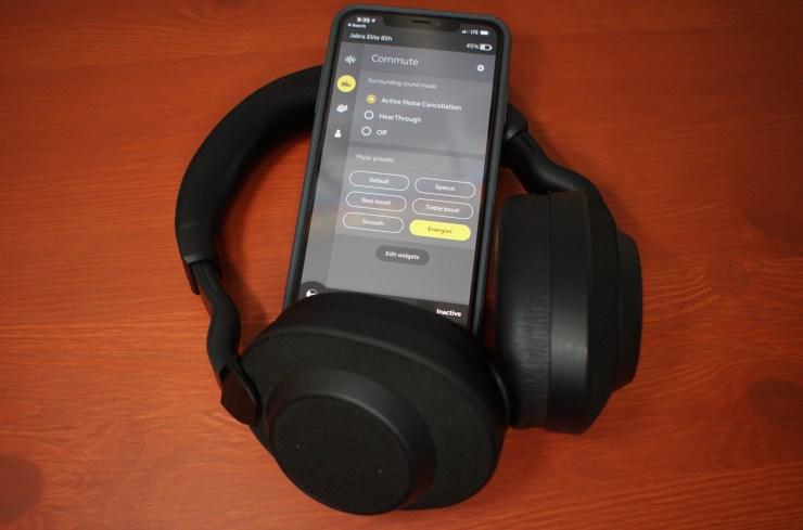 1d0a32db916 The Jabra Elite 85h noise canceling headphones are simply amazing.
