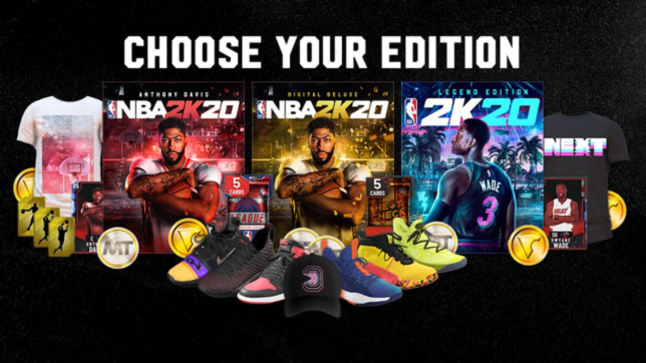 Nba 2k20 Which Edition To Buy