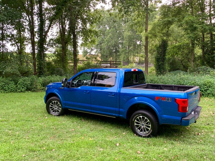 The 2019 Ford F-150 performance is great and it handles well.