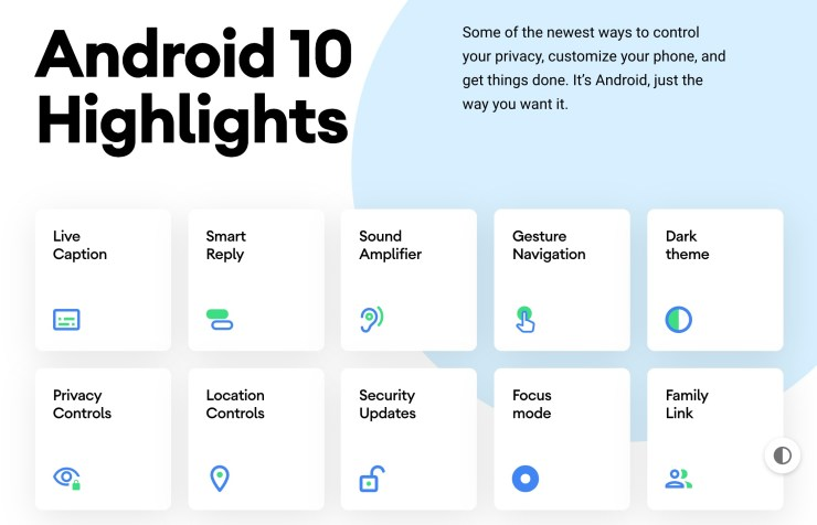 Android 10: Everything That's New