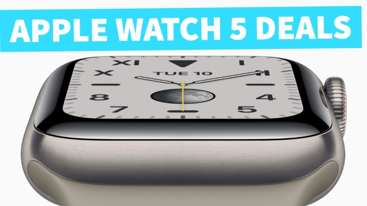 Save big with Apple Watch 5 deals.