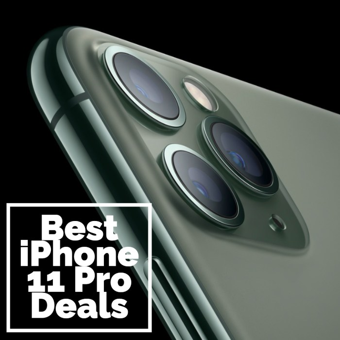 Save big with iPhone 11 Pro and iPhone 11 Pro Max deals.