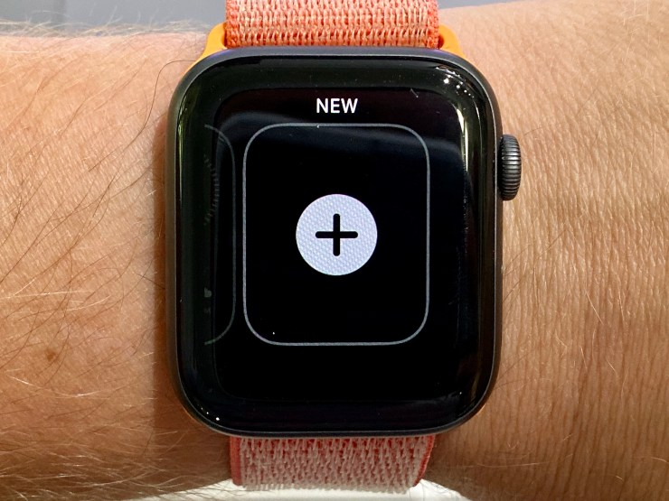 The new watch faces aren't missing, just hidden.