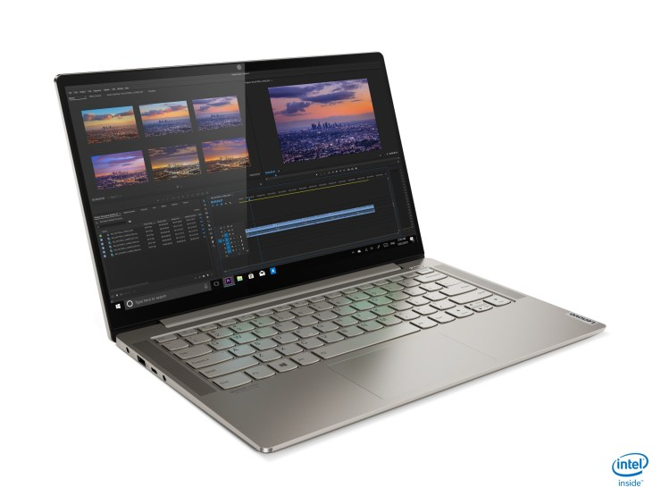The Lenovo Yoga S740 features a dedicated GPU for more intense work.