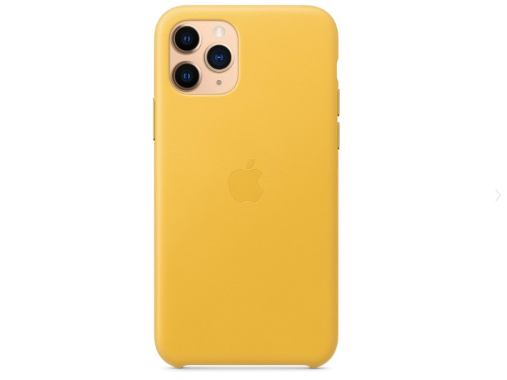 Leather is available in an array of colors from Apple.