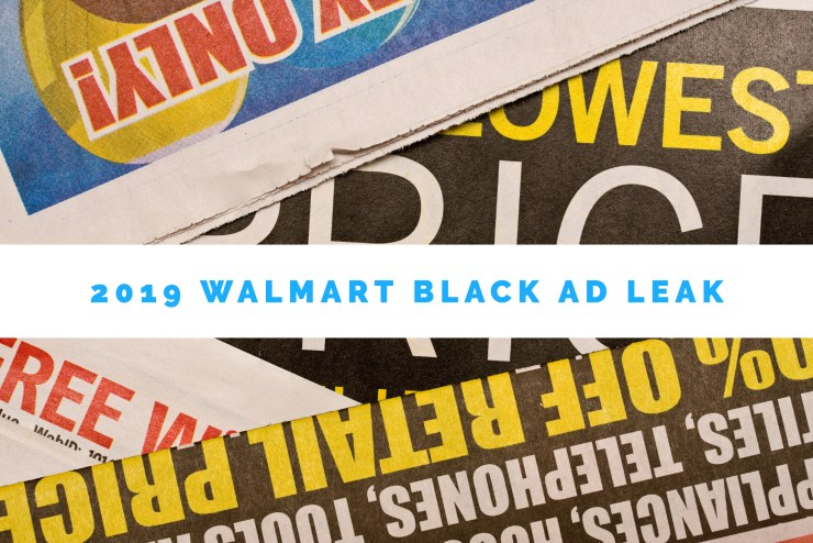 Don't Expect a Valid 2019 Walmart Black Friday Ad Leak