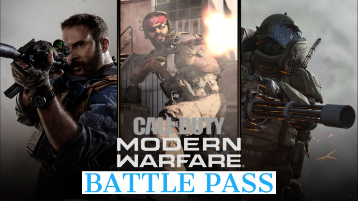 What you need to know about the Call of Duty: Modern Warfare Battle Pass.