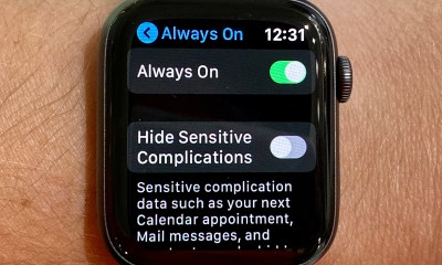 Turn off the new Apple Watch 5 features.