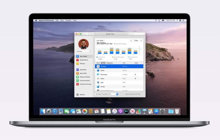For Screen Time on Your Mac