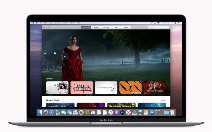 Apple TV, Podcasts & Apple Music on Your Mac
