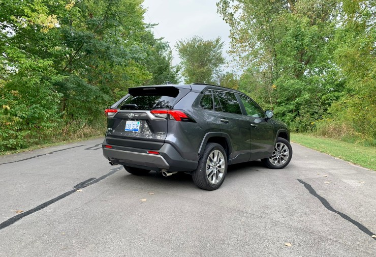 The 2019 RAV4 is comfortable and handles nicely, but the engine and transmission aren't as refined.