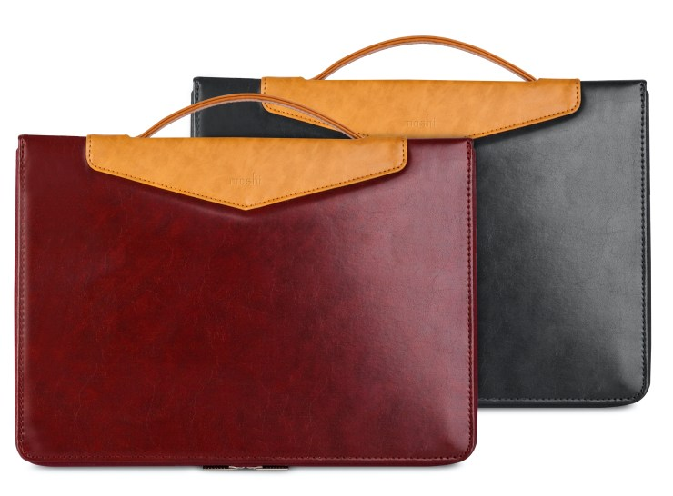 The Moshi Codex is a MacBook Pro sleeve that protects your MacBook Pro on the go and while you use it.