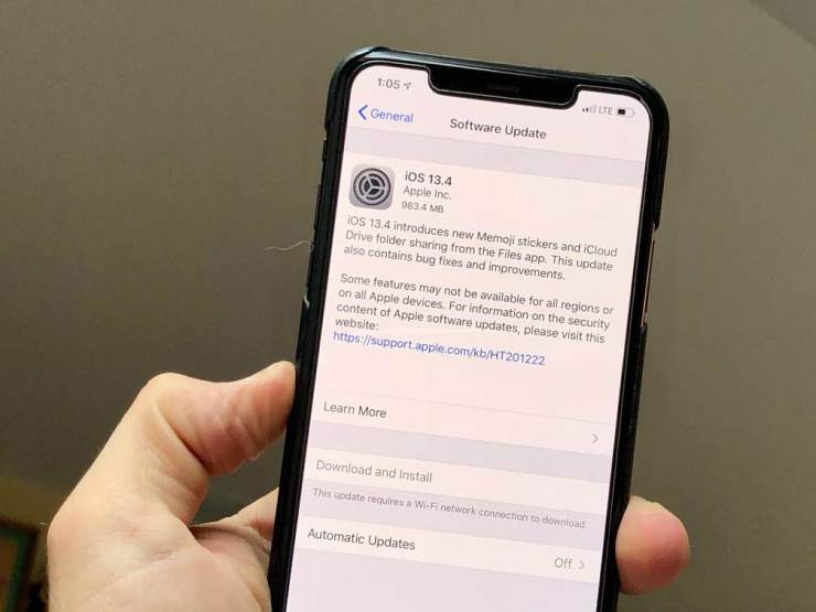 iPhone 11 iOS 13.5 Update: What's New