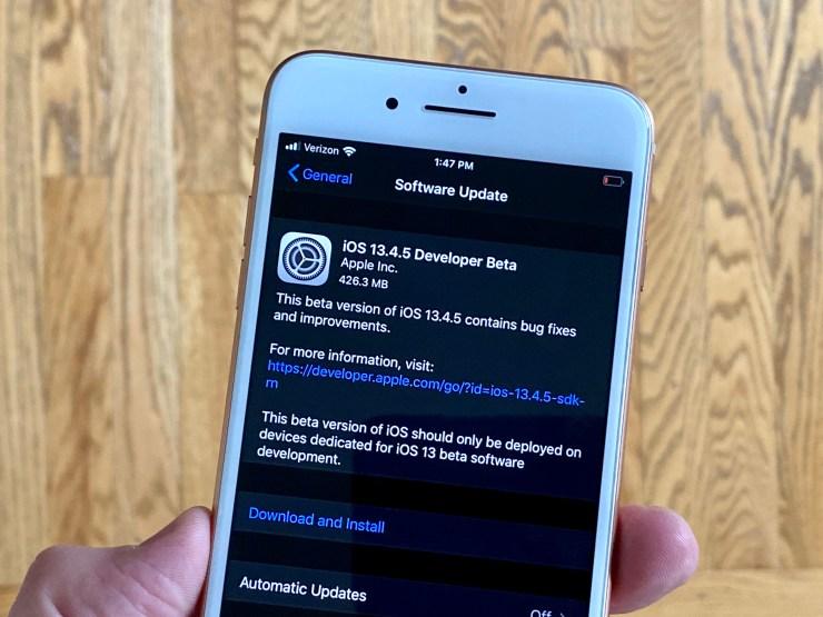 Ios 13.4.5 Release Date