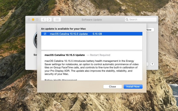 Install for macOS 10.15.4 Fixes and Security Updates