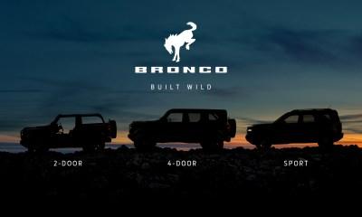 2021 Ford Bronco profile