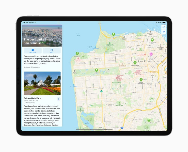 Install iPadOS 14.1 for Improvements to Maps