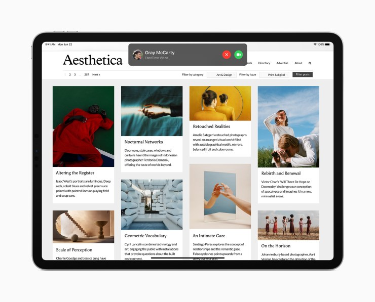 Install iPadOS 14 for the Compact UI