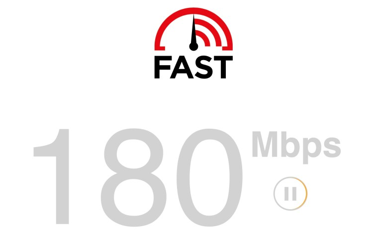 fast.com Prime Video speed check connection meter