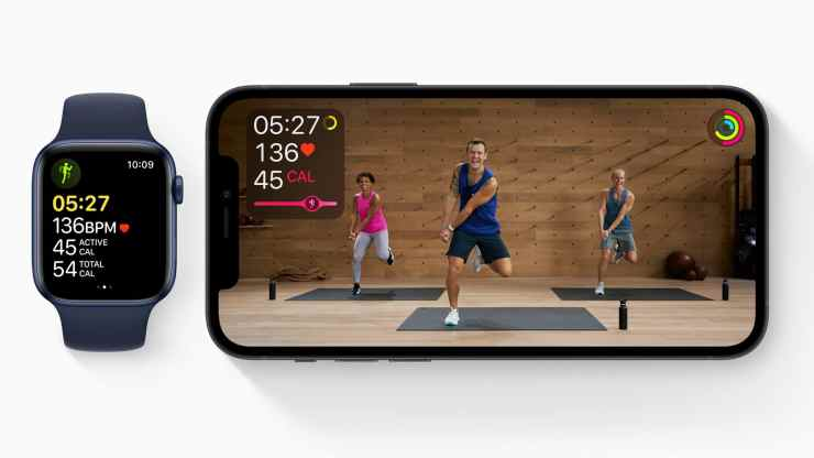 Install iOS 14.4 for Apple Fitness+