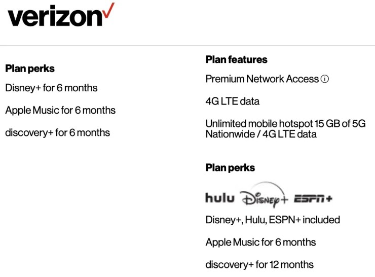 Hulu free with Verizon