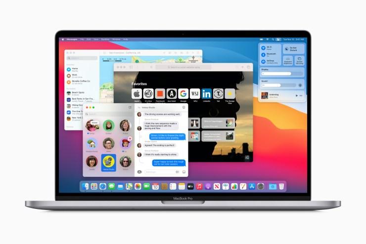 new macbook pro macos updates