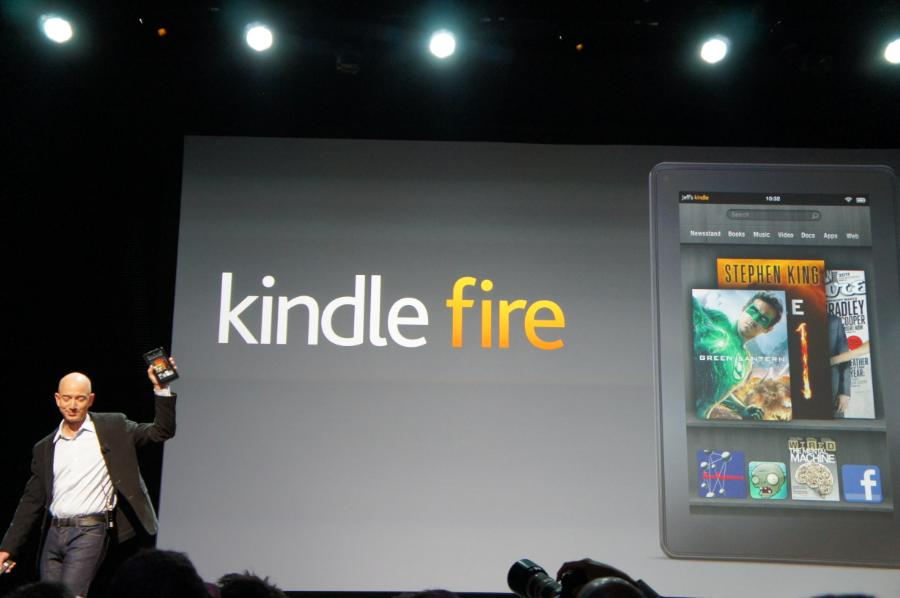 "Kindle Fire Launches for $199 - 7"" Display, Amazon Apps ..."