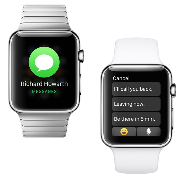 Apple Watch textmessage