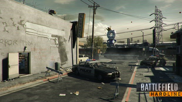 Only some players get a Battlefield Hardline beta pre-load option so far.