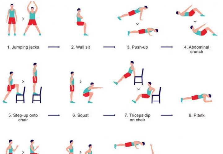 7-Minute Workout App