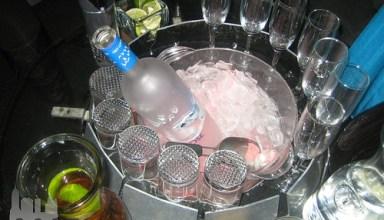 Bottle Service Tethering