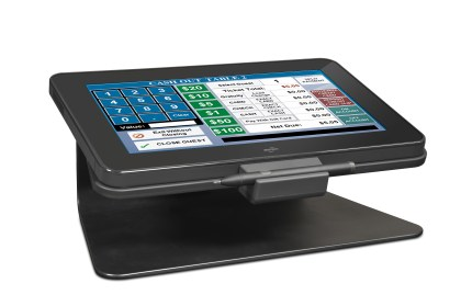 Motion CL900 with optional horizontal dock stand