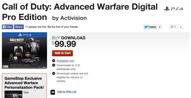 Many users are still waiting for their GameStop Call of Duty: Advanced Warfare codes.