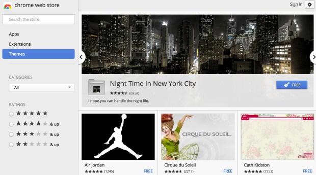 Chrome-themeapply